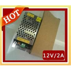 Блок питания для светодиодных лент 12В 24Вт