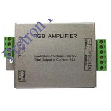 Усилитель-трансмиттер сигнала для светодиодных лент (RGB) 144Вт