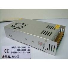 Блок питания для светодиодных лент 12В 360Вт