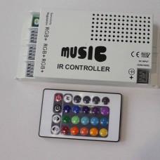 Контроллер дистанционного управления c пультом и звуковым сенсором 120 Ватт